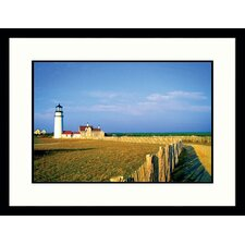 Seascapes 'Cape Cod Light' by Stephen Saks Framed Photographic Print