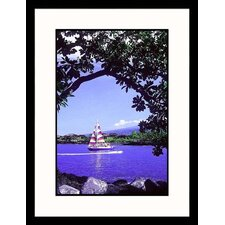 <strong>Great American Picture</strong> Kona Coast, Hawaii Framed Photograph - Mick Roessler