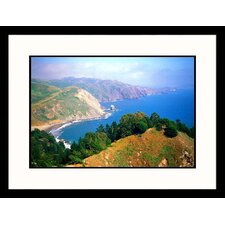 <strong>Great American Picture</strong> Muir Beach Lookout Framed Photograph - Mark Segal