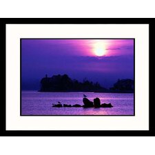 Sunrise, Conneticutt Framed Photograph - Steve Dunwell