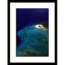 Seascapes 'Ocean and Boats' by Steve Dunwell Framed Photographic Print