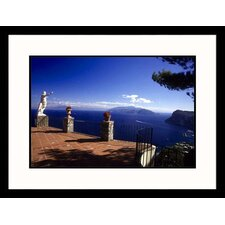 Seascapes 'Cliffside Terrace, Capril' by Dave Bartruff Framed Photographic Print