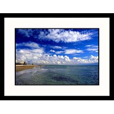 <strong>Great American Picture</strong> Florida, Key Biscayne Framed Photograph - Warren Flagler