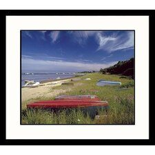 Seascapes Boats on the Cape Framed Photographic Print