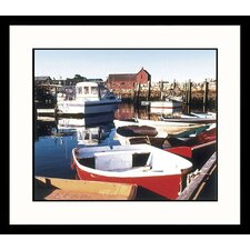 Boats at Rockport Framed Photograph