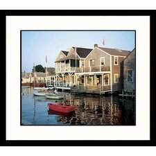 Nantucket Harbor Framed Photograph