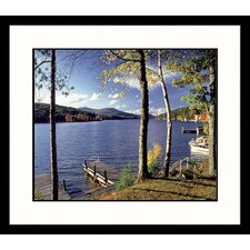 Seascapes Lake Winnipesaukee, New Hampshire Framed Photographic Print