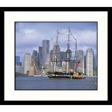 <strong>Great American Picture</strong> USS Constitution Framed Photograph - Jim Abts