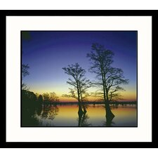 <strong>Great American Picture</strong> Silhouettes at Sunrise Framed Photograph - Adam Jones