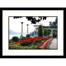 Florals Italian Villa Framed Photographic Print