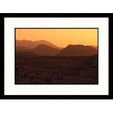 Desert Dawn, West Texas Framed Photograph - Stewart Cohen