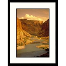 Landscapes 'Colorado River,Grand Canyon, Arizona' by Amy and Chuck Wiley Framed Photographic Print