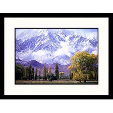 Landscapes 'The Sierra Nevada Mountains, California' by David Carriere Framed Photographic Print