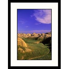 Sky Over Badlands National Park, South Dakota Framed Photograph - Russell Burden