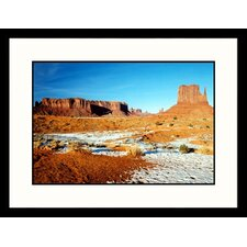 <strong>Great American Picture</strong> Majesty of Monument Valley, Arizona Framed Photograph - James Denk