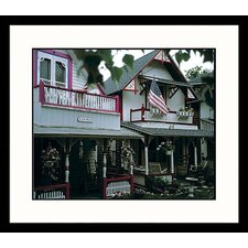 <strong>Great American Picture</strong> Cape Cod Cottages, Massachusetts Framed Photograph