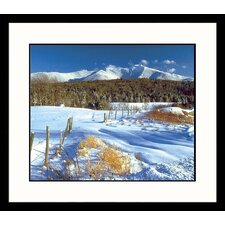 Landscapes Mount Mansfield Winter Framed Photographic Print