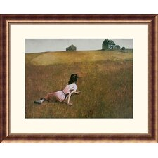 Christina's World Bronze Framed Print - Andrew Wyeth
