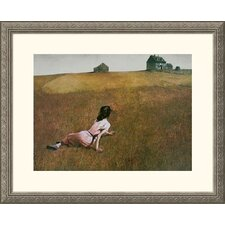 Christina's World Silver Framed Print - Andrew Wyeth