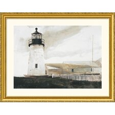 Easterly Gold Framed Print - Andrew Wyeth