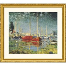 <strong>Great American Picture</strong> Argenteuil Gold Framed Print - Claude Monet