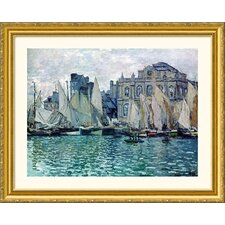 Museum Reproductions 'The Museum' by Claude Monet Framed Painting Print