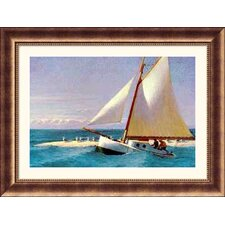Martha Mckeen of Wellfleet Bronze Framed Print - Edward Hopper
