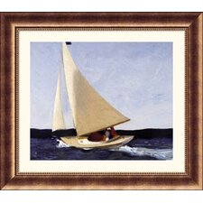 Museum Reproductions 'Sailing' by Edward Hopper Framed Painting Print