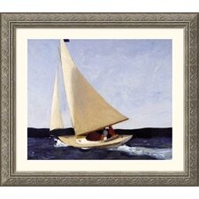 Sailing Silver Framed Print - Edward Hopper