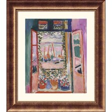 Museum Reproductions 'Open Window, Collioure, 1905' by Henri Matisse Framed Painting Print