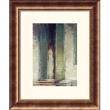 <strong>Great American Picture</strong> Woman in Doorway Bronze Framed Print - John Singer Sargent