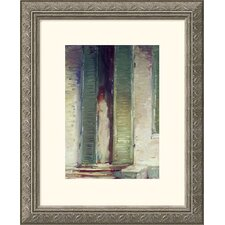 Museum Reproductions 'Woman in Doorway' by John Singer Sargent Framed Painting Print