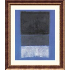 Museum Reproductions 'No.14, 1957' by Mark Rothko Framed Painting Print