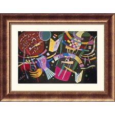 Museum Reproductions 'Composition X' by Wassily Kandinsky Framed Painting Print
