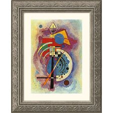 Museum Reproductions 'Homage to Grohmann' by Wassily Kandinsky Framed Painting Print
