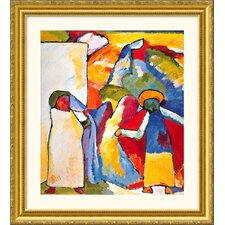 Museum Reproductions Kandinsky 5 by Wassily Kandinsky Framed Painting Print