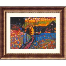 Museum Reproductions Untitled by Wassily Kandinsky Framed Painting Print