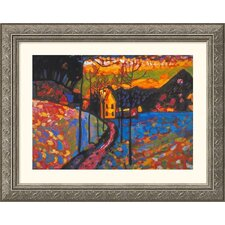 Museum Reproductions 'Untitled' by Wassily Kandinsky Framed Painting Print