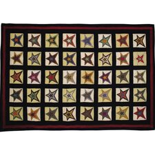 Penny Star Patch Novelty Rug