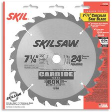 Framing & Crosscutting Carbide Tipped Circular Saw Blade 7572