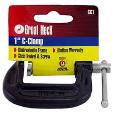 "1"" Adjustable C Clamps CC1"