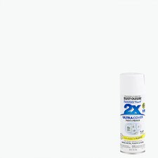 Painter's Touch® 2X™ 12 Oz White Flat Cover Spray Paint