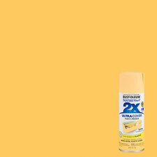 Painter's Touch® 2X™ 12 Oz Summer Squash Cover Spray Paint Satin