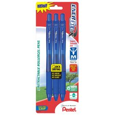 0.7 mm Needle Point Gel Pen in Blue (Set of 6)