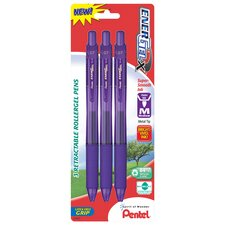 0.7 mm Needle Point Gel Pen in Violet (Set of 6)