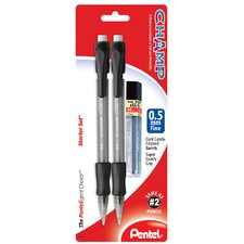 0.5mm Black Champ Pencil Set (Set of 6)
