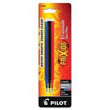 Refill For Frixion Erasable Gel Ink Pen (Set of 3)