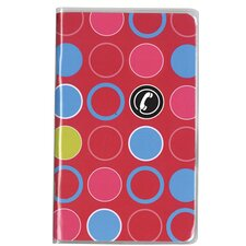 Fashion Pocket Telephone and Address Book (12 Pack)