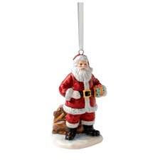 Santa with Sack Ornament