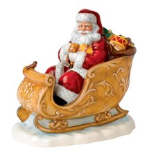 Santa's Sleigh 2014 Figurine